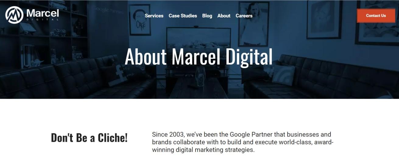 Pionniers de la scène du marketing numérique