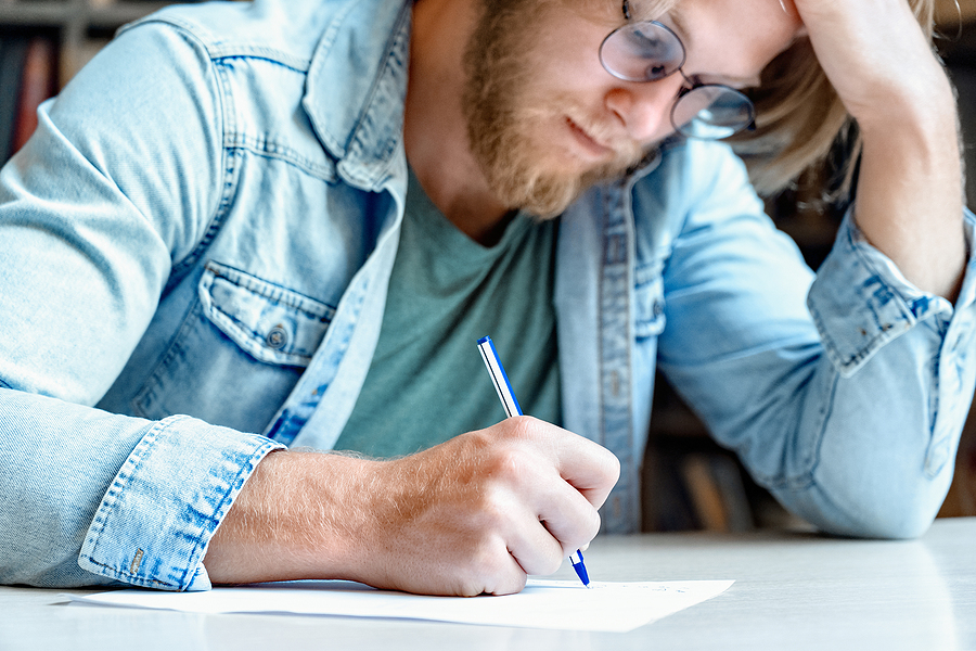 Writing essay for school