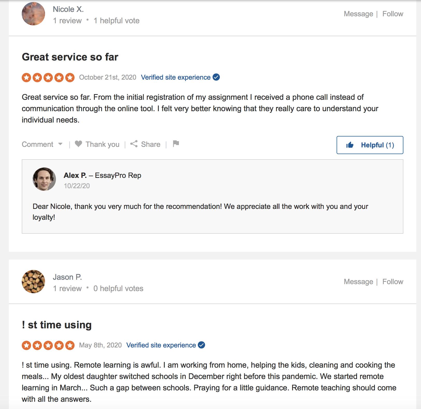 99 Essay Pro Reviews