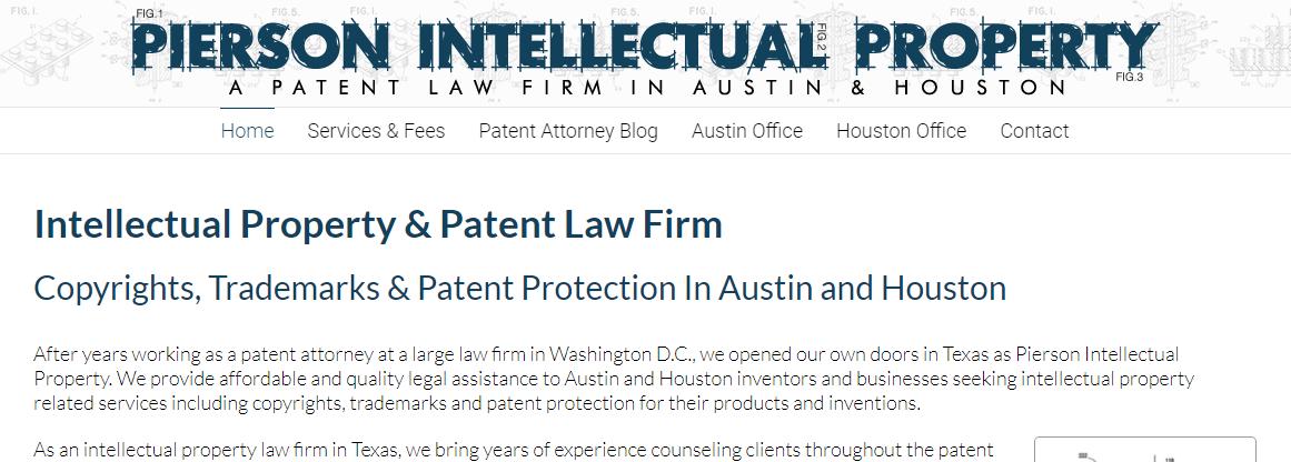 5 Best Patent Attorneys in Austin1