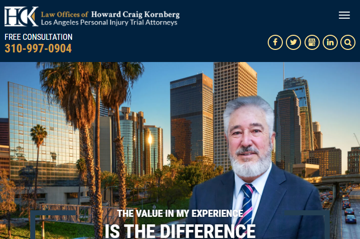 5 Best Personal Injury Attorneys in Los Angeles 3