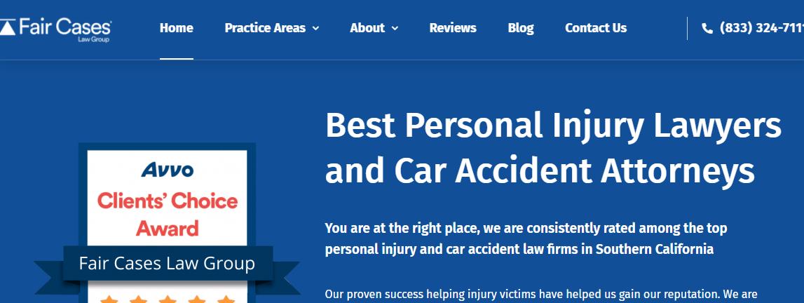 5 Best Personal Injury Attorneys in Los Angeles 5