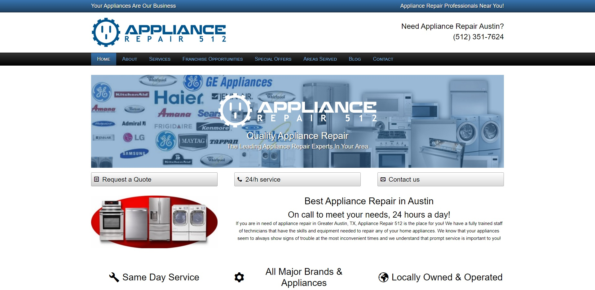 Best Appliance Repairs in Austin