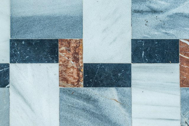 Ceramic tiles stores pattern.