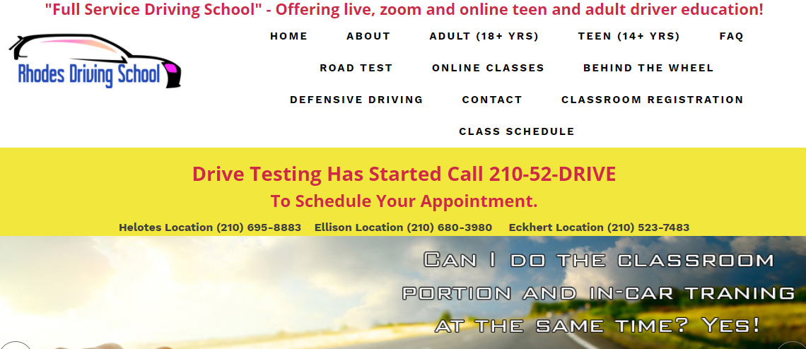 5 Best Driving Schools in San Antonio 1