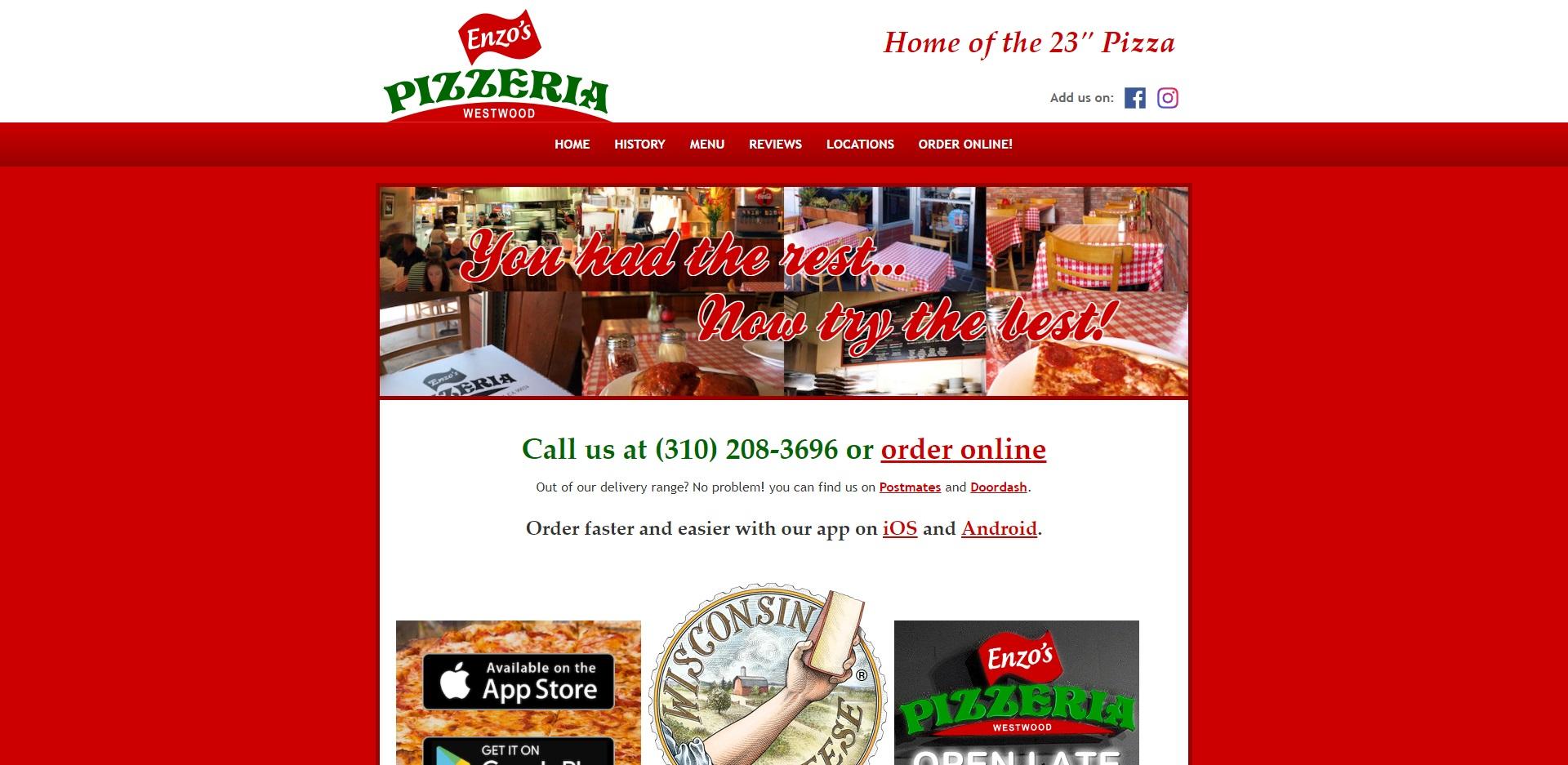 Los Angeles Best Pizzerias