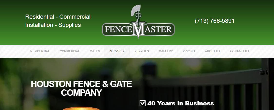 5 Best Fencing Contractors in Houston 1