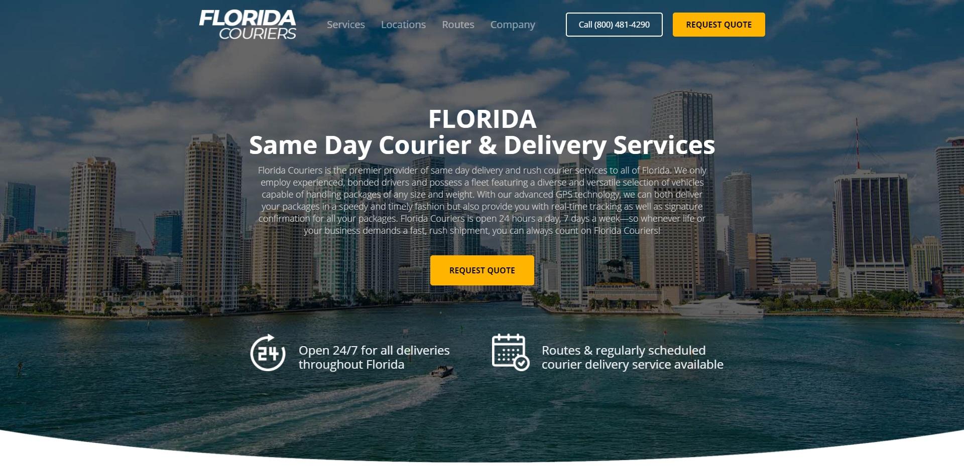 Jacksonville's Best Courier Services