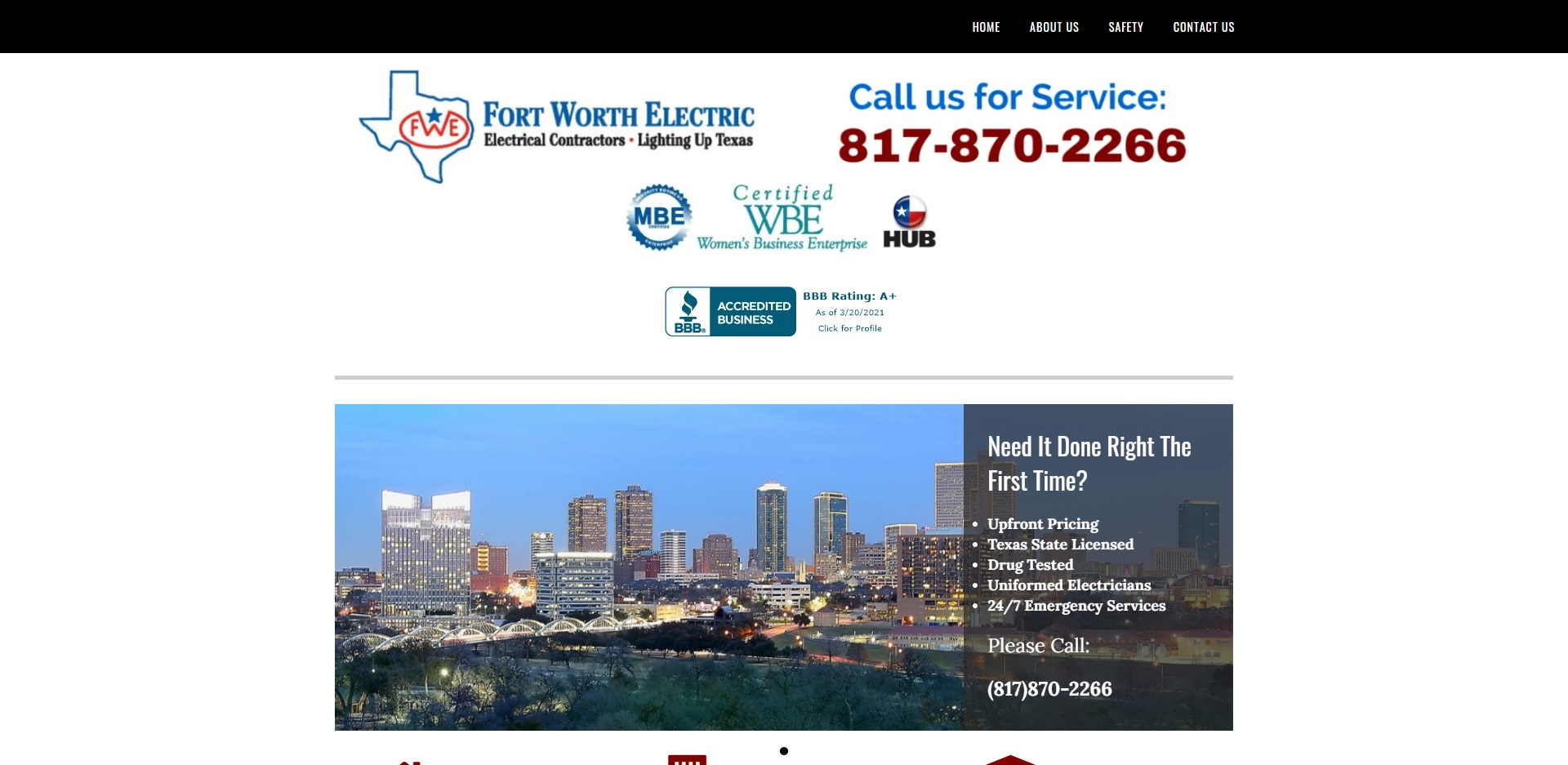 The Best Electrical Services in Fort Worth