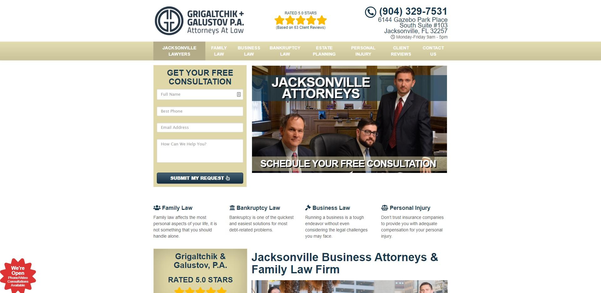 Jacksonville's Best Divorce Attorneys