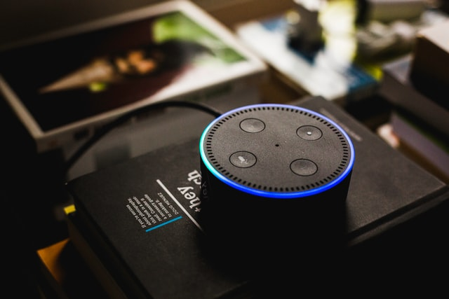 An alexa part of the Internet of Things website.