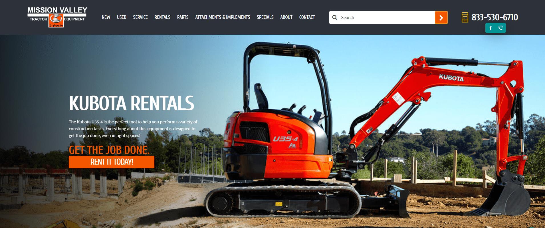 San Jose heavy equipment dealer