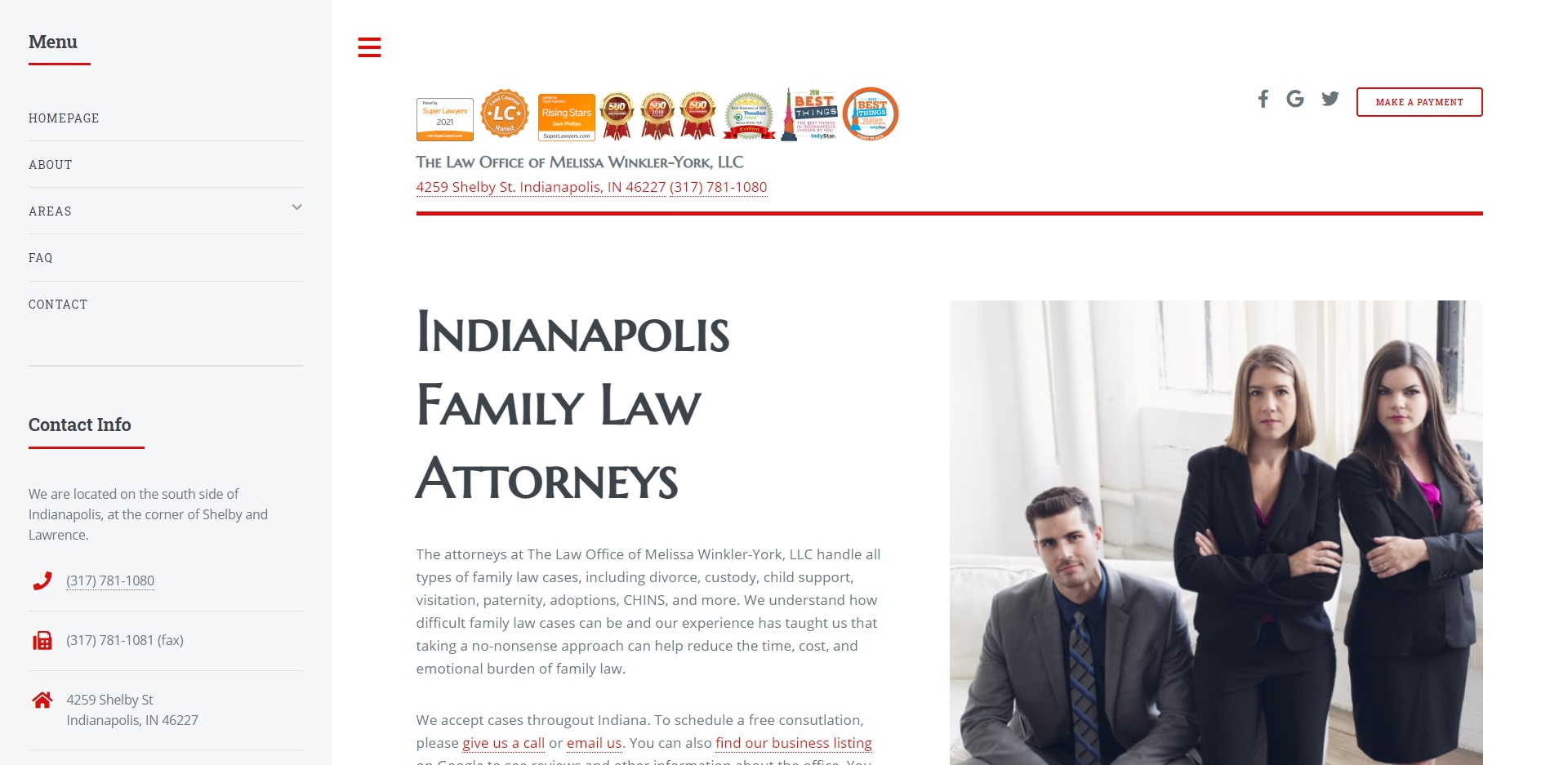 The Best Child Custody Attorneys in Indianapolis