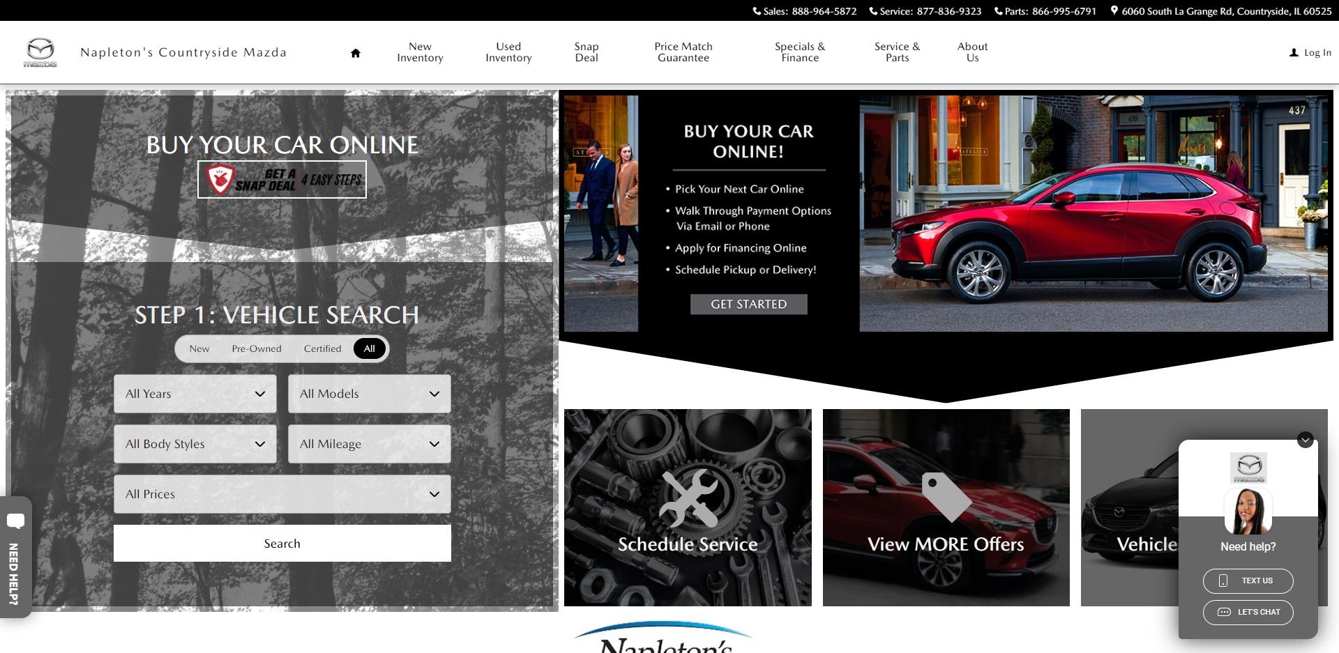 Chicago's Best Mazda Dealers