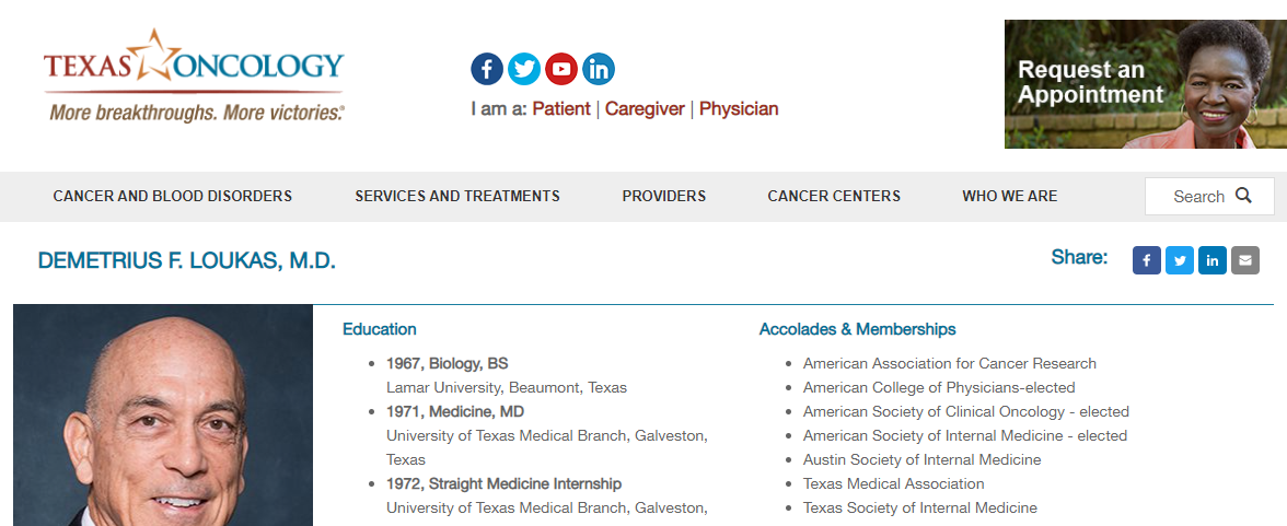 5 Best Oncologists in Austin 4