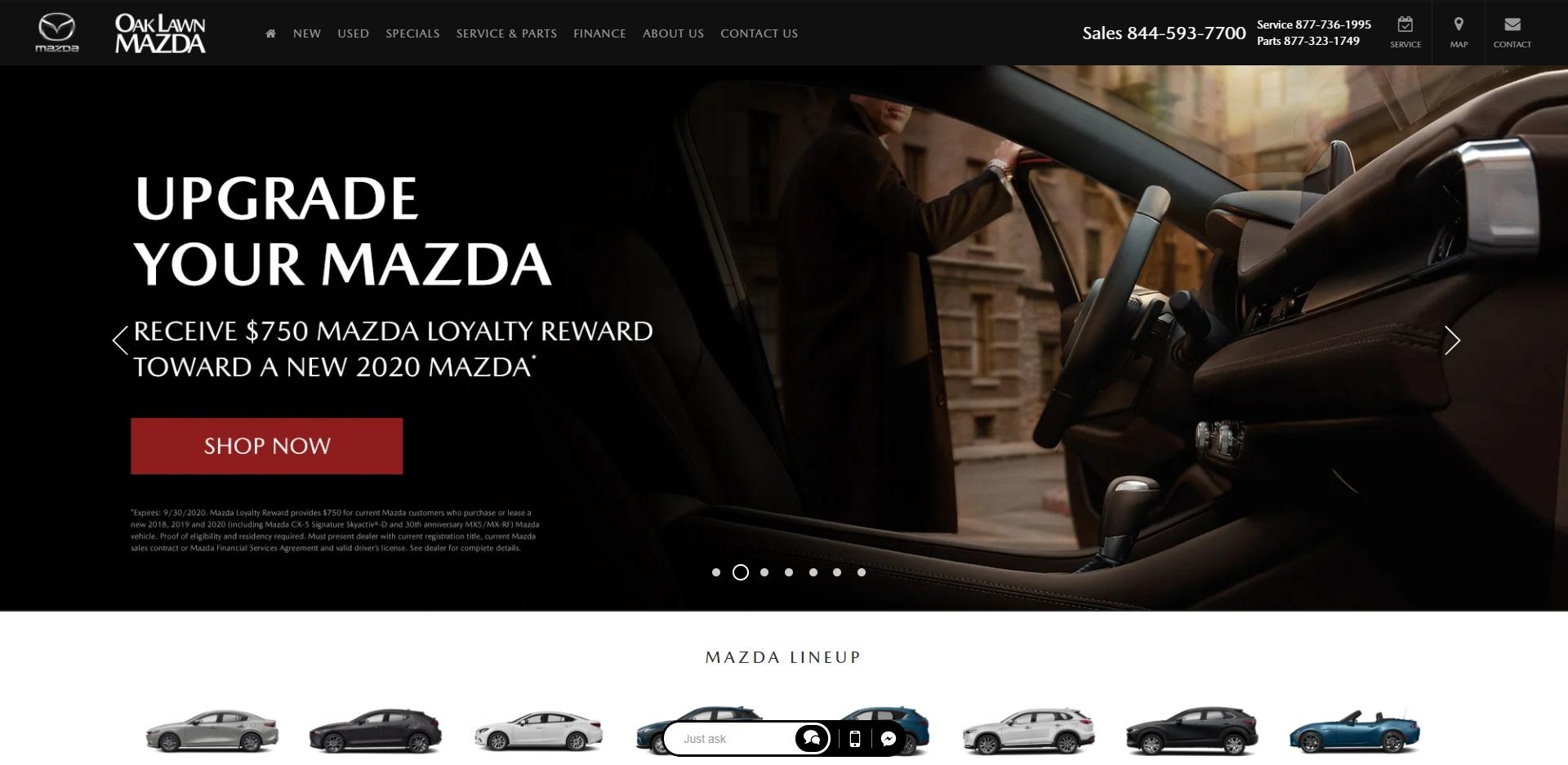 Best Mazda Dealers in Chicago