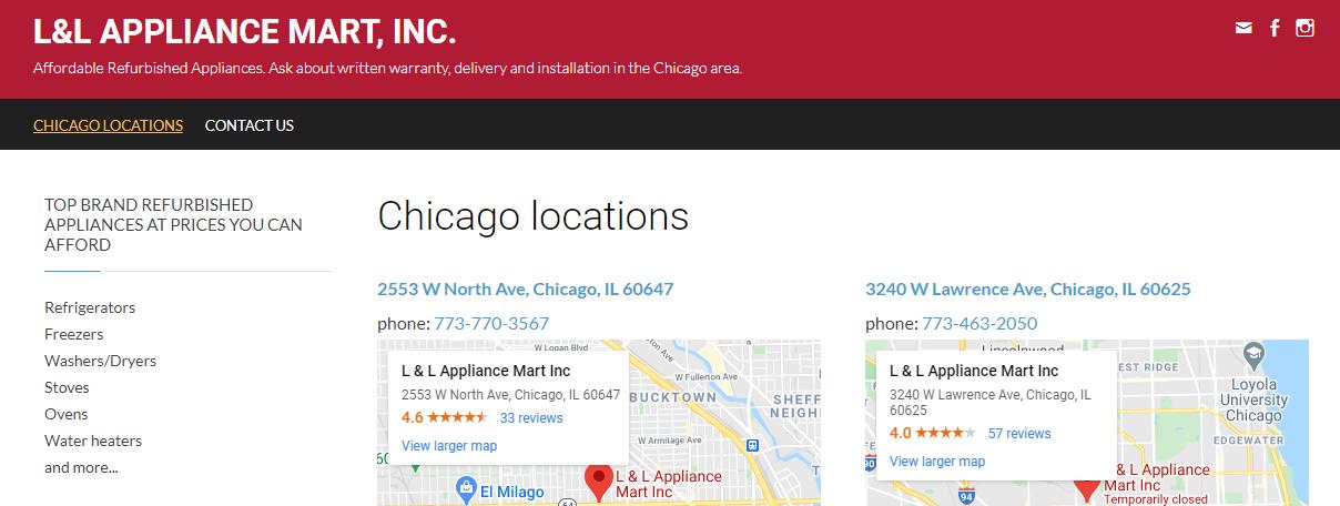 5 Best Refrigerator Stores in Chicago3