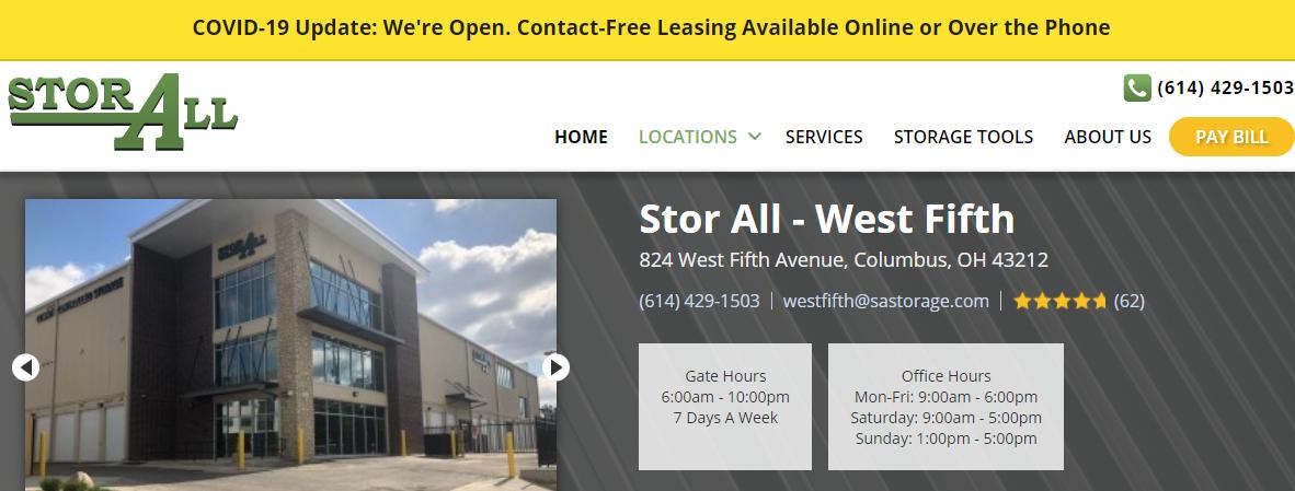 5 Best Storage in Columbus 1