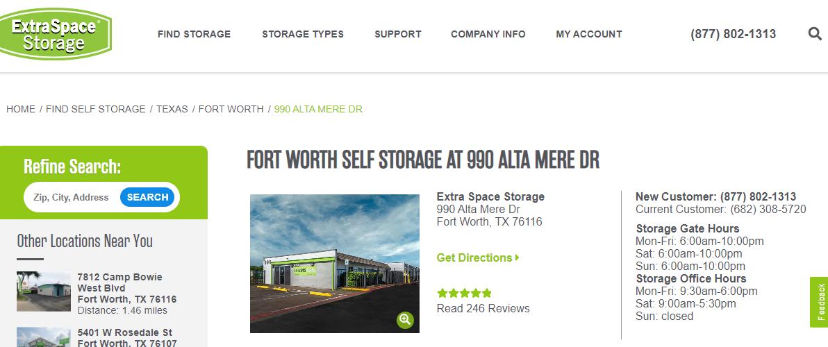 5 Best Storage in Fort Worth3