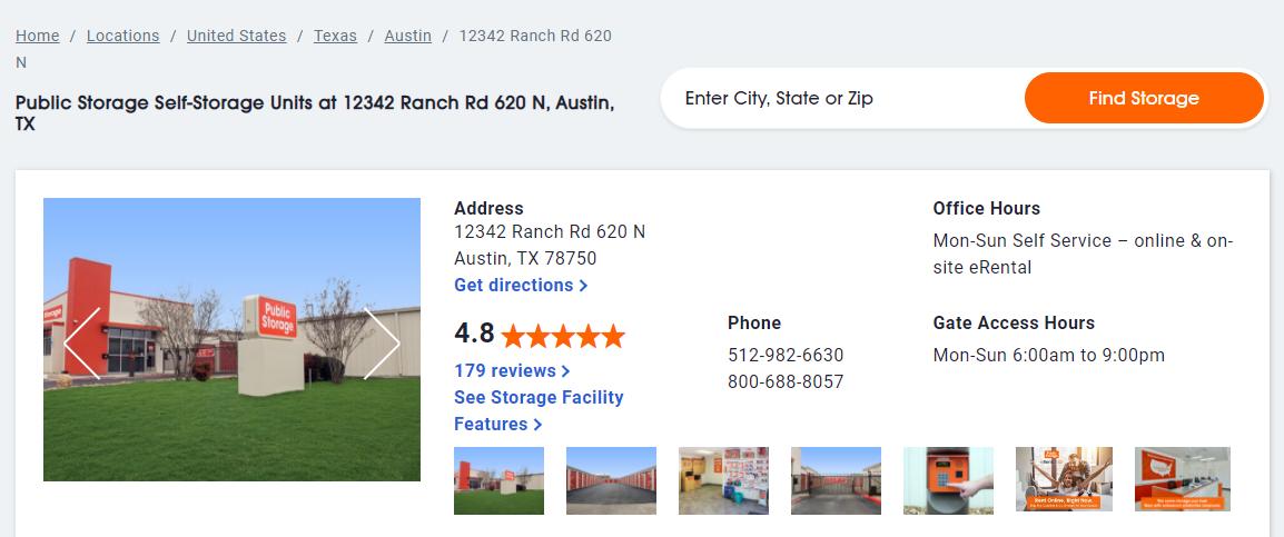 5 Best Storage in Austin4