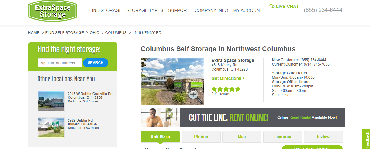 5 Best Storage in Columbus 4