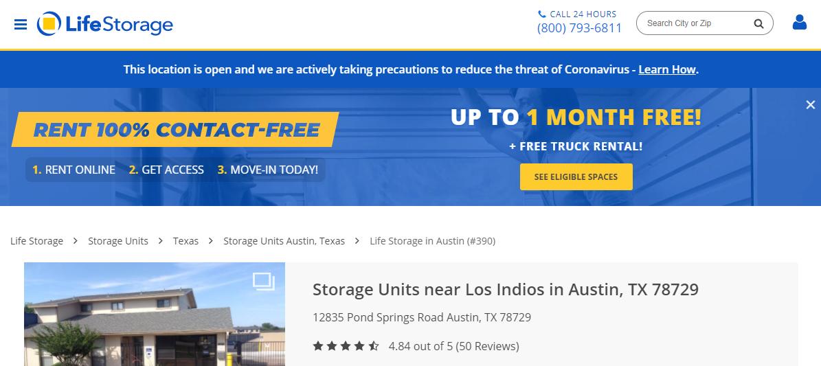 5 Best Storage in Austin5