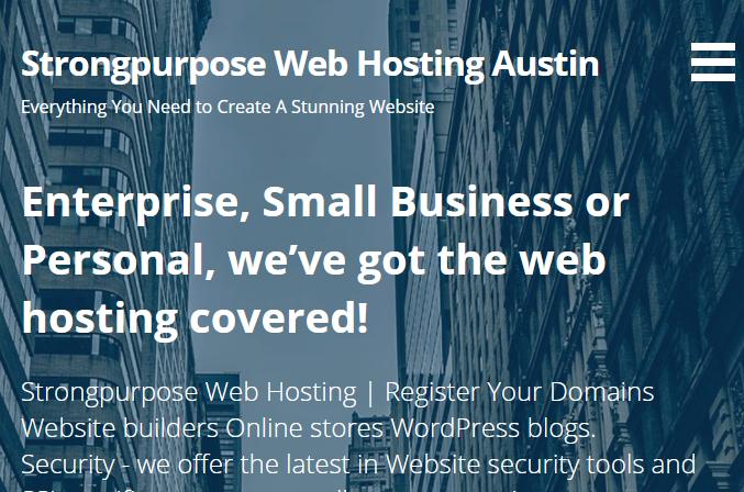 5 Best Web Hosting in Austin 1