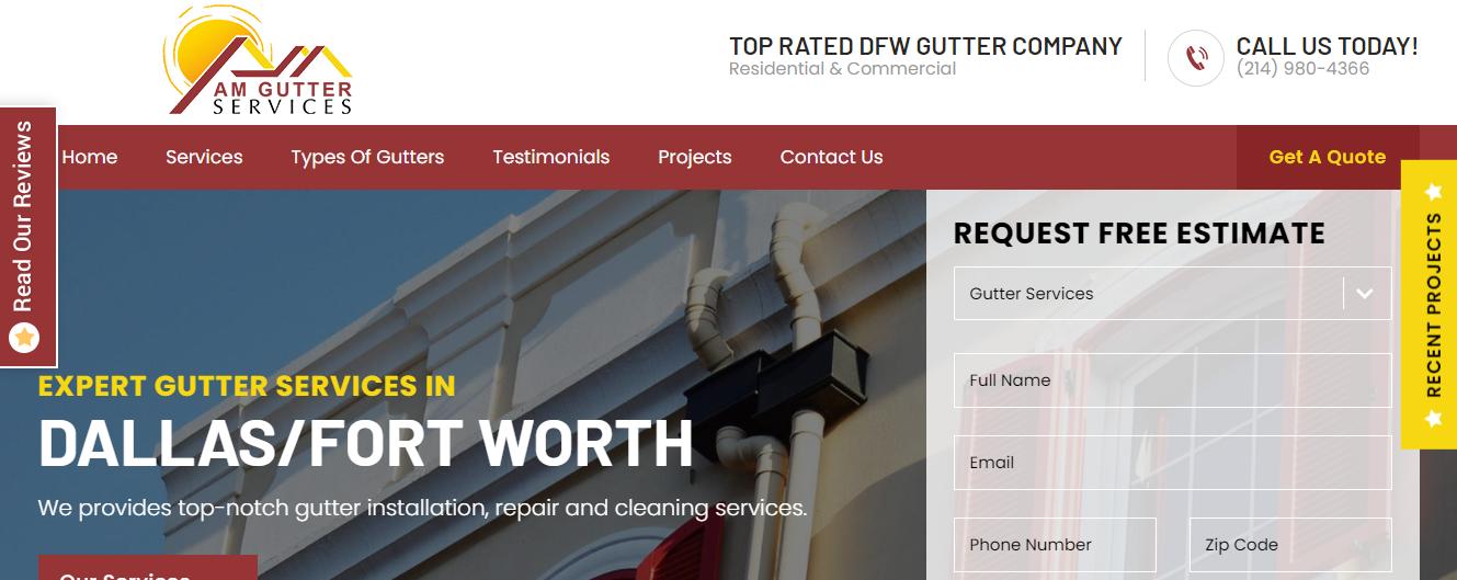 gutter services in dallas