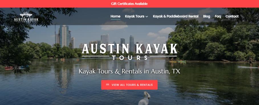 Austin Kayak Tours in Austin