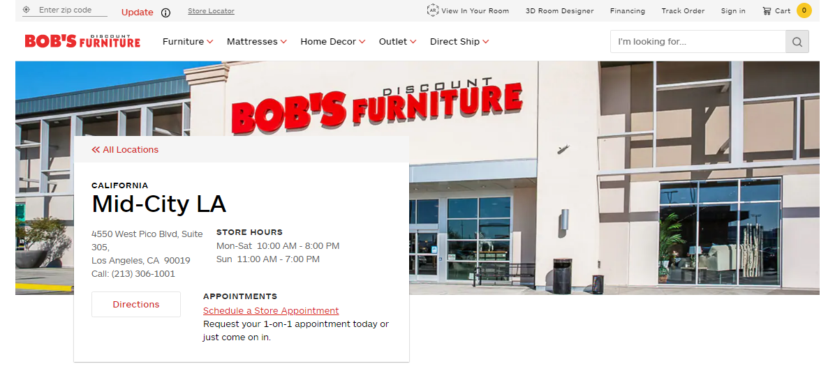 5 Best Furniture Stores in Los Angeles, California ONE