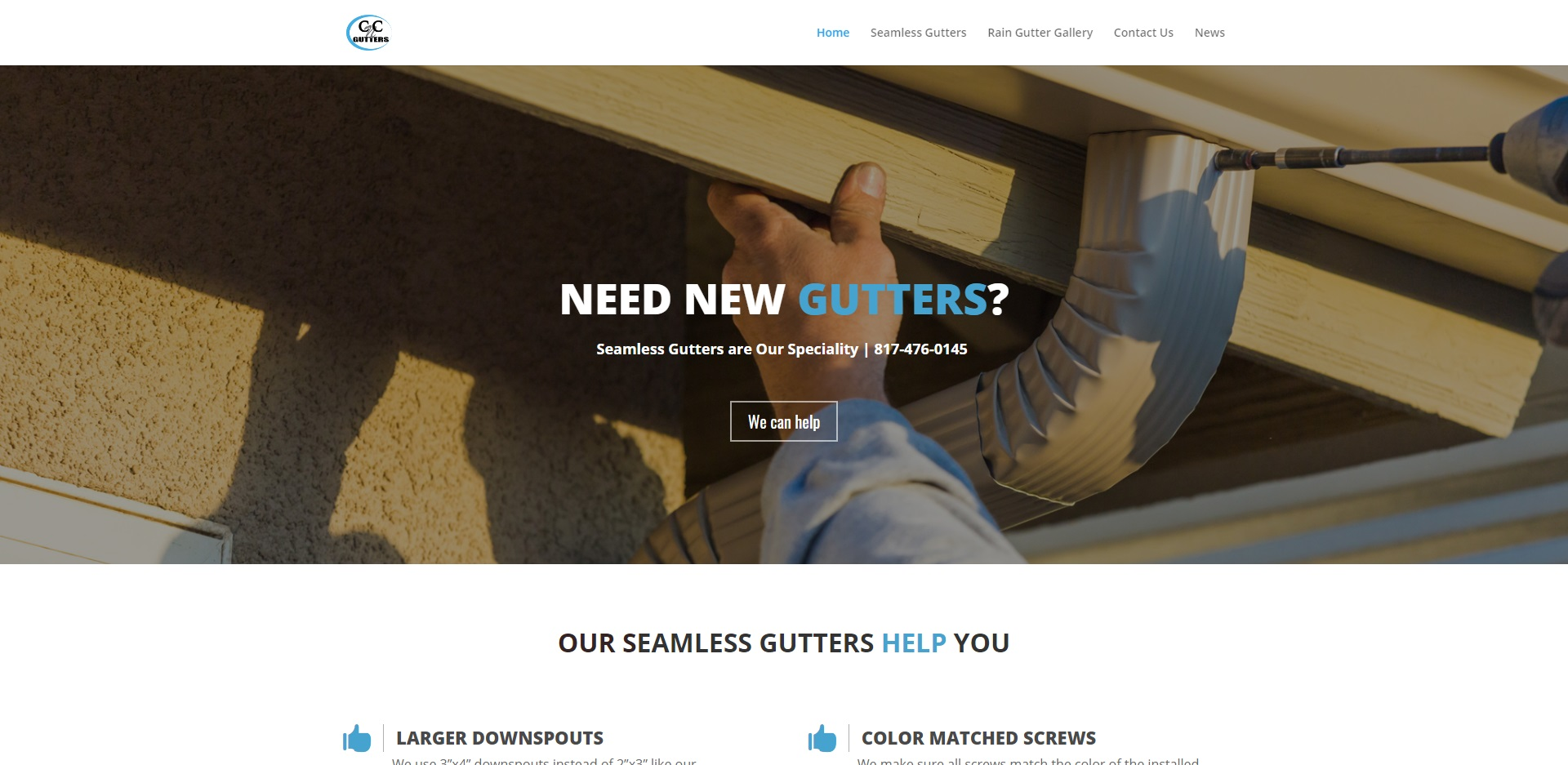 The Best Gutter Installers in Fort Worth