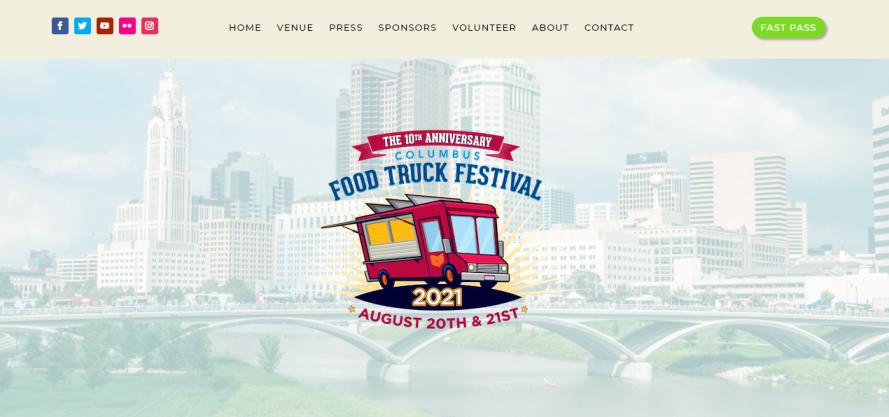 Columbus Food Truck Festival in Columbus