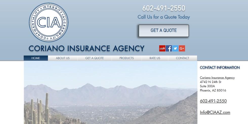Coriano Insurance Agency
