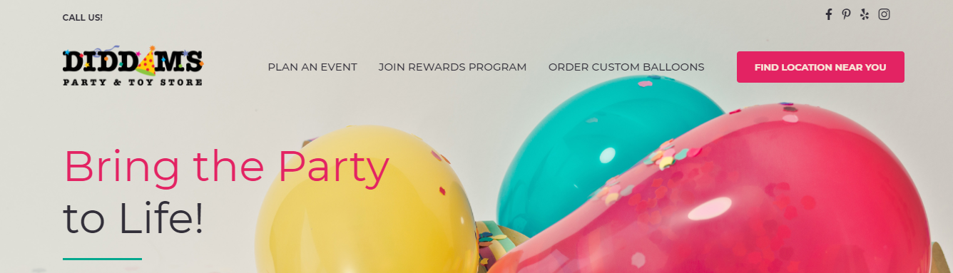 party supplies and event planning in San Jose, CA