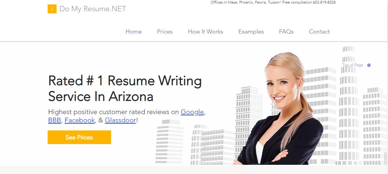 Do My Resume.NET in Phoenix, AZ