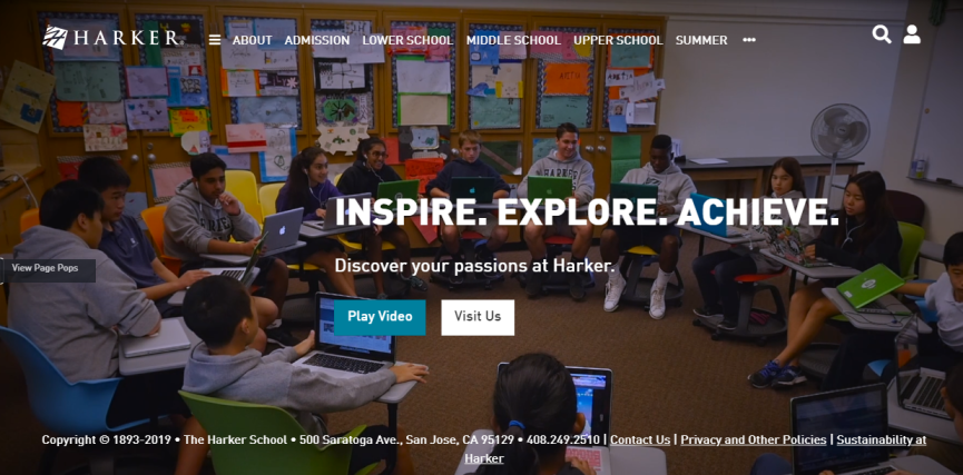 Harker School in San Jose