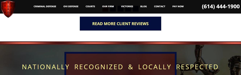 criminal defense law firm in ohio
