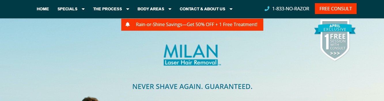 quality hair removal services in charlotte, NC