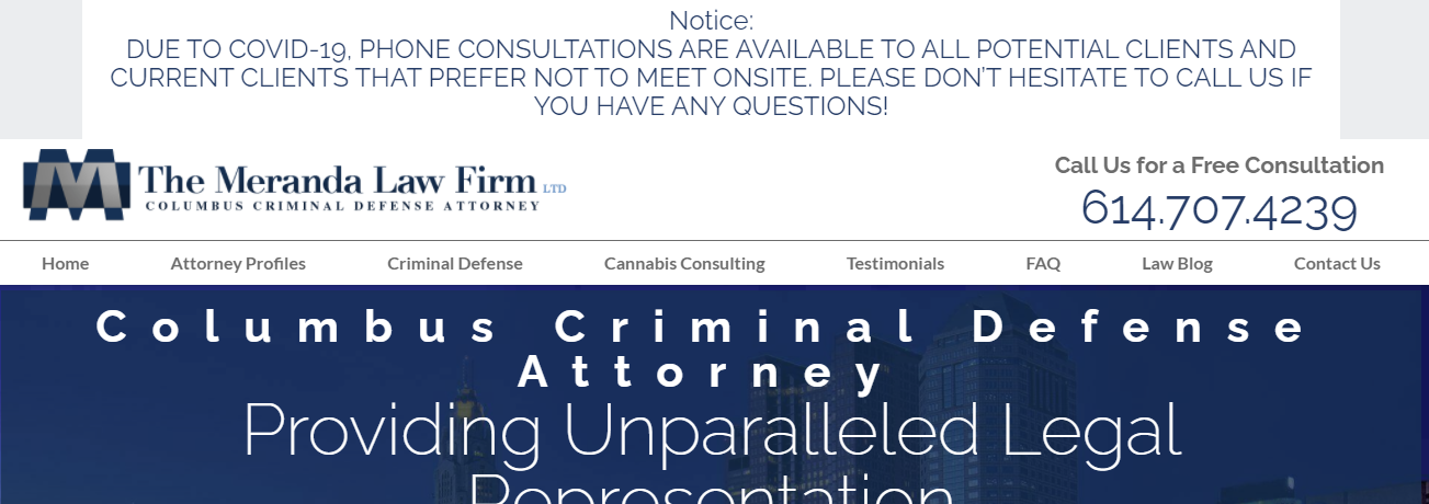best criminal defense law firm in ohio
