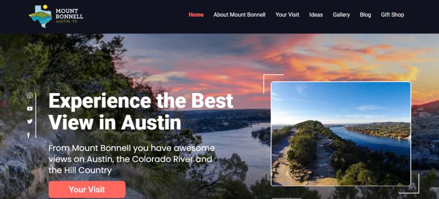 Mount Bonnell in Austin