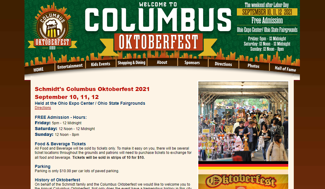 Columbus Oktoberfest in Columbus