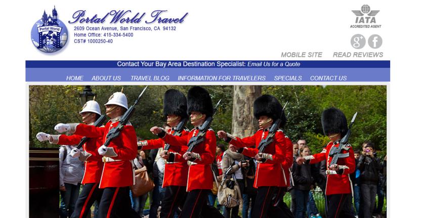 Portal World Travel in San Francisco