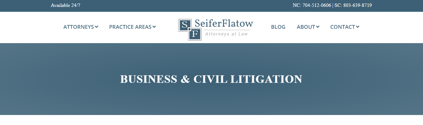 expert contract attorneys in charlotte, nc