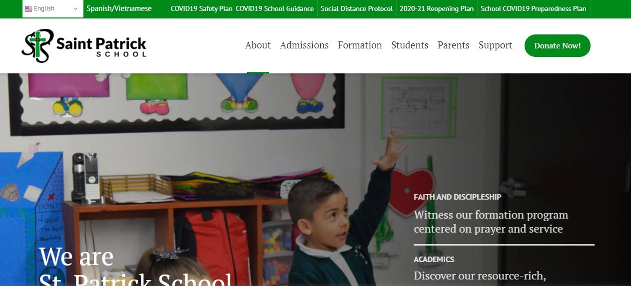 Saint Patrick School in San Jose