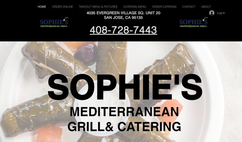 Sophie's Mediterranean Grill