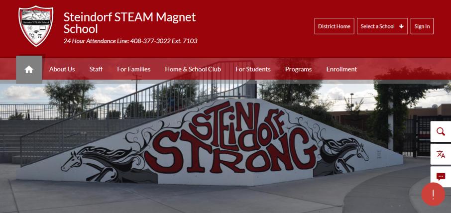 Steindorf School in San Jose