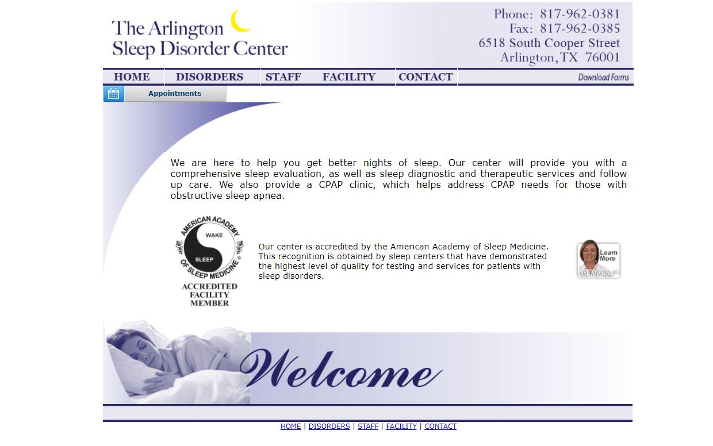 The Arlington Sleep Disorder Center
