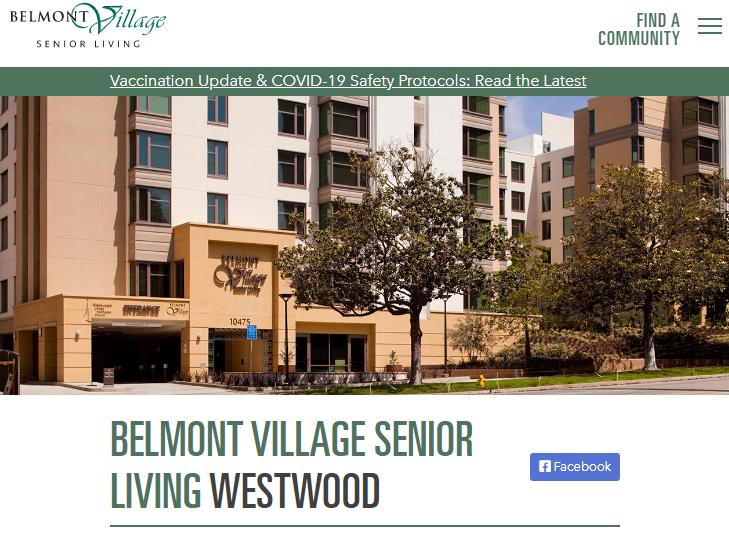 Belmont Village Senior Living Westwood