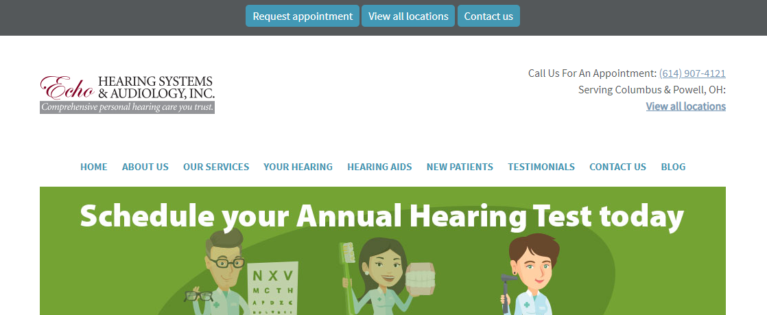 Echo Hearing Systems and Audiology