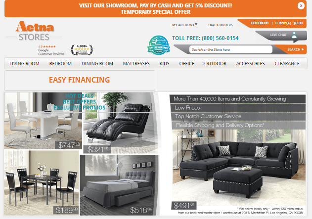 5 Best Furniture Stores in Los Angeles, California FOUR